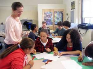 Carol Gretter teaches the design process